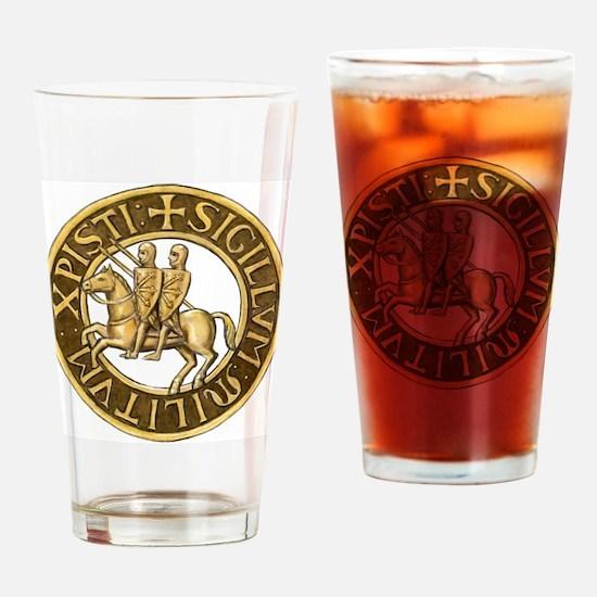 Templar seal Drinking Glass