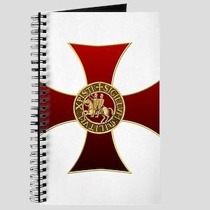 Templar cross and seal Journal