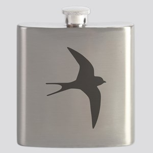 Swallow bird Flask