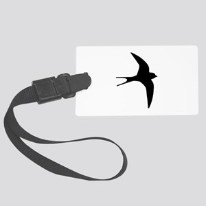 Swallow bird Large Luggage Tag