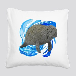 THE YOUNG ONE Square Canvas Pillow