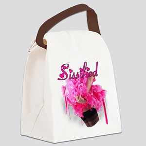 Sissified Canvas Lunch Bag
