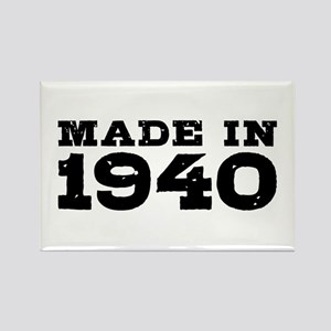 Made In 1940 Rectangle Magnet