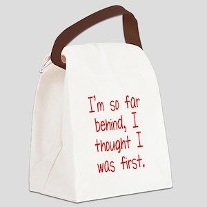 Far Behind Canvas Lunch Bag