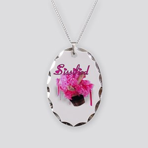 Sissified Necklace Oval Charm