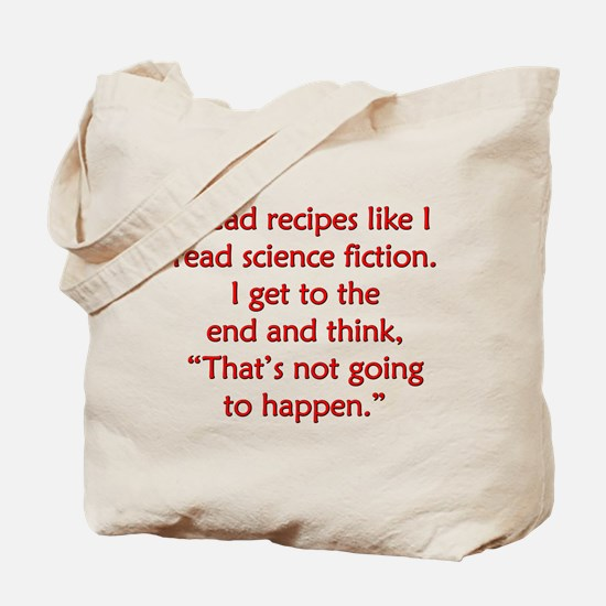 Science Fiction Recipes Tote Bag