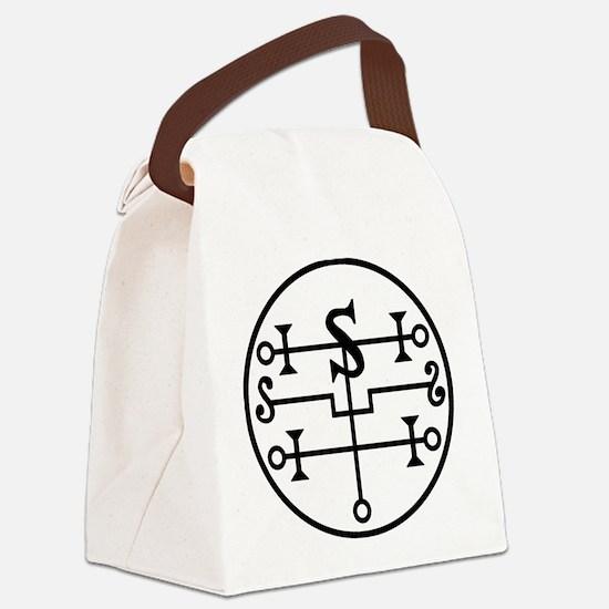 Unique Sigil Canvas Lunch Bag