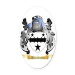 Blackbourn Oval Car Magnet