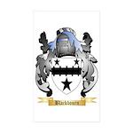 Blackbourn Sticker (Rectangle 10 pk)