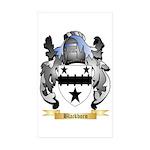 Blackborn Sticker (Rectangle 10 pk)