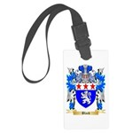 Black Large Luggage Tag