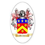 Blachre Sticker (Oval 50 pk)