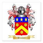 Blachier Square Car Magnet 3