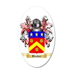 Blachier 35x21 Oval Wall Decal