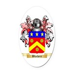 Blachere Oval Car Magnet