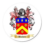 Blachere Round Car Magnet