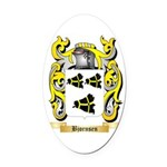 Bjornsen Oval Car Magnet