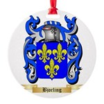 Bjorling Round Ornament