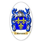 Bjorkqvist Sticker (Oval 50 pk)