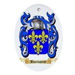 Bjorkqvist Ornament (Oval)