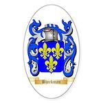 Bjorkman Sticker (Oval 10 pk)