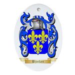 Bjorken Ornament (Oval)