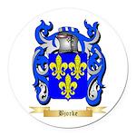 Bjorke Round Car Magnet
