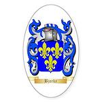 Bjorke Sticker (Oval 10 pk)