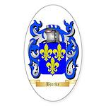 Bjorke Sticker (Oval 50 pk)