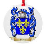 Bjork Round Ornament