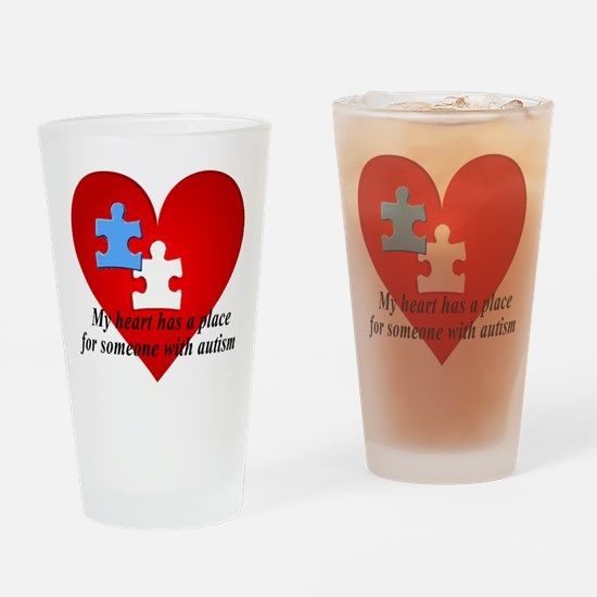My heart has a place for someone with autism Drink
