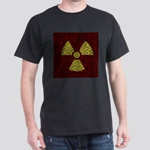 Brick Wall Radioactive Sign T-Shirt