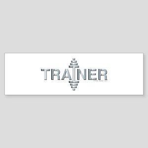 TRAINER -- Fit Metal Designs Sticker (Bumper)