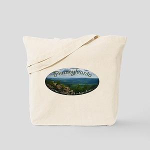 Pennsylvania virtue liberty independence Tote Bag