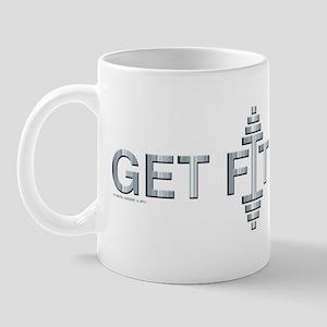 GET FIT -- Fit Metal Designs Mug