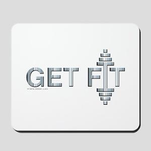 GET FIT -- Fit Metal Designs Mousepad