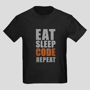 Eat sleep code repeat T-Shirt
