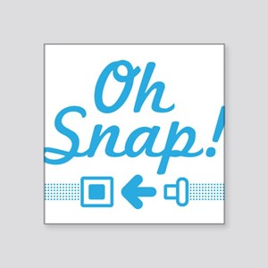 Oh Snap! Snap that belt. Sticker