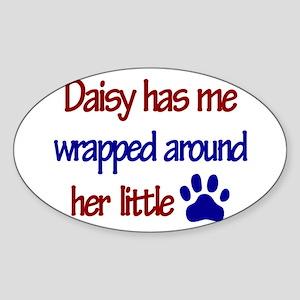 Daisy - Has Me Wrapped Around Sticker (Rectangular