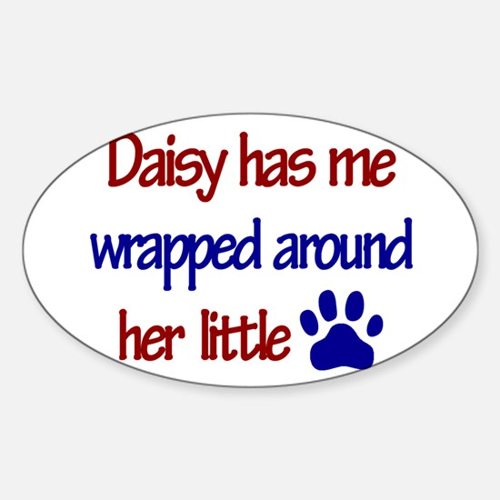 Daisy - Has Me Wrapped Around Sticker (Rectangular