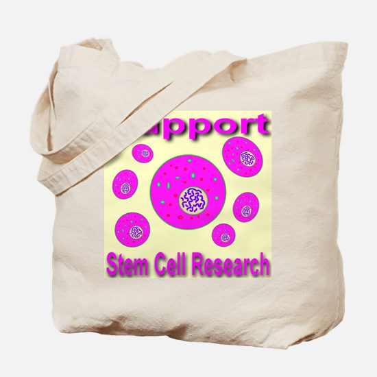 Support Stem Cell Research Tote Bag