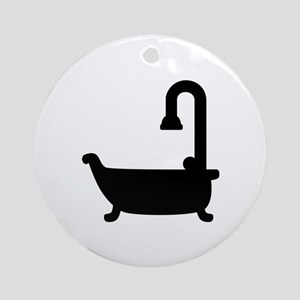 Bath tub shower Ornament (Round)