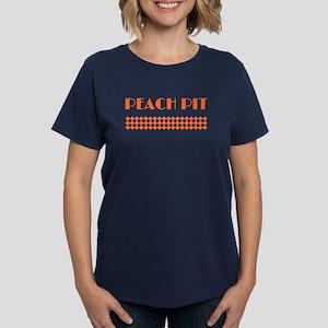 90210 Peach Pit Women's Dark T-Shirt
