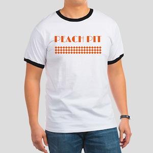 90210 Peach Pit Ringer T