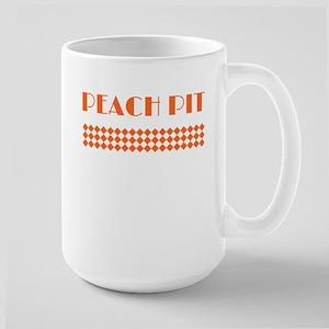 90210 Peach Pit Large Mug