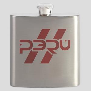 Peru Flag Flask