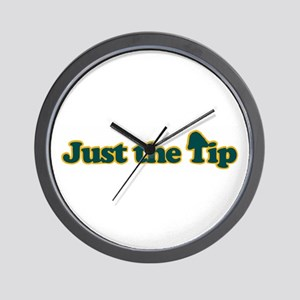 Just The Tip Wall Clock