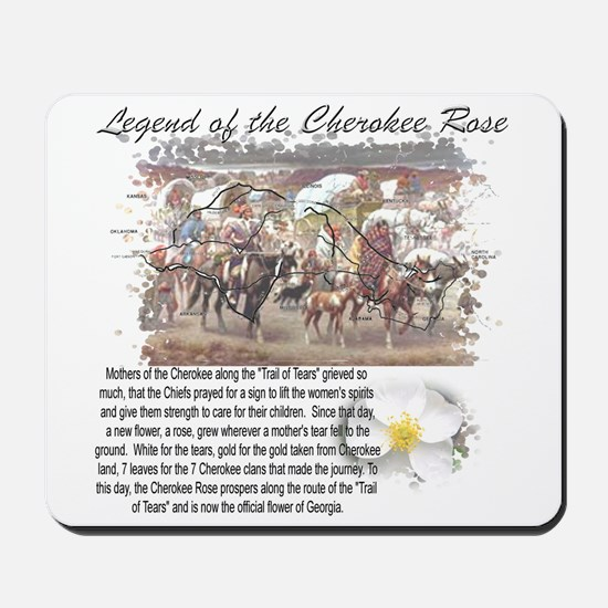 """Cherokee Rose"" Mousepad"