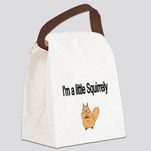 Im a little Squirrely Canvas Lunch Bag