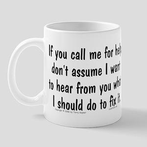 If You Call... Mug